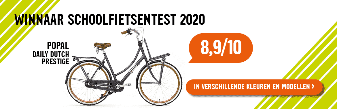 Popal Daily Dutch schoolfiets winnaar 2020
