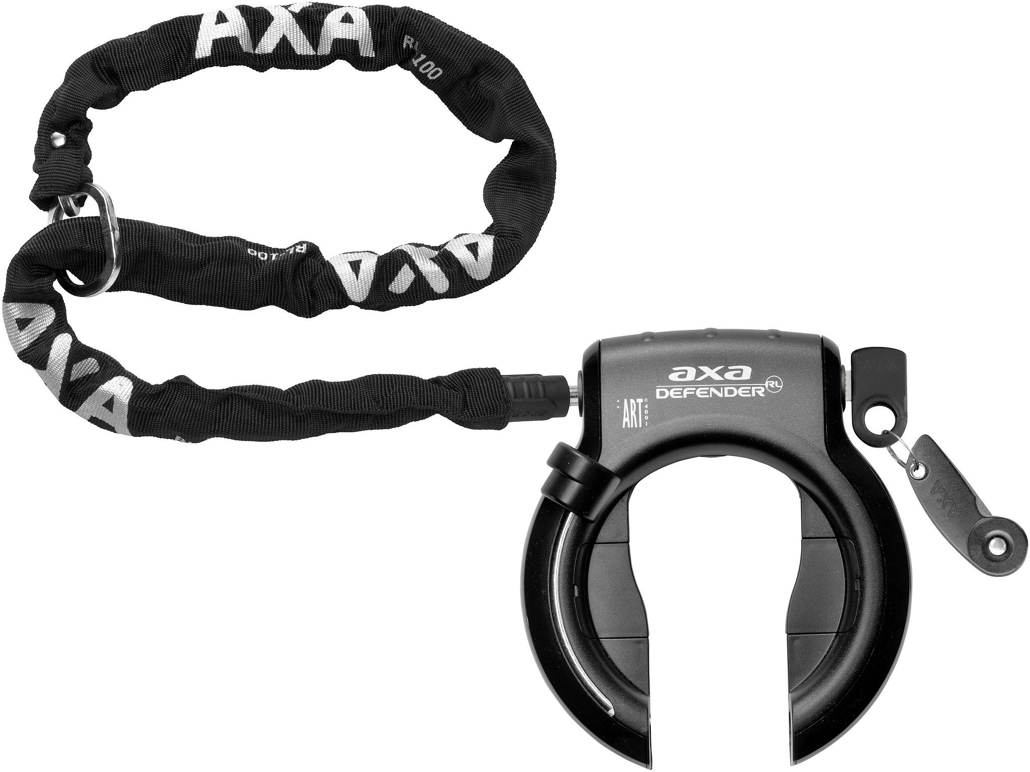 Axa Insteekketting RLC 100cm zwart