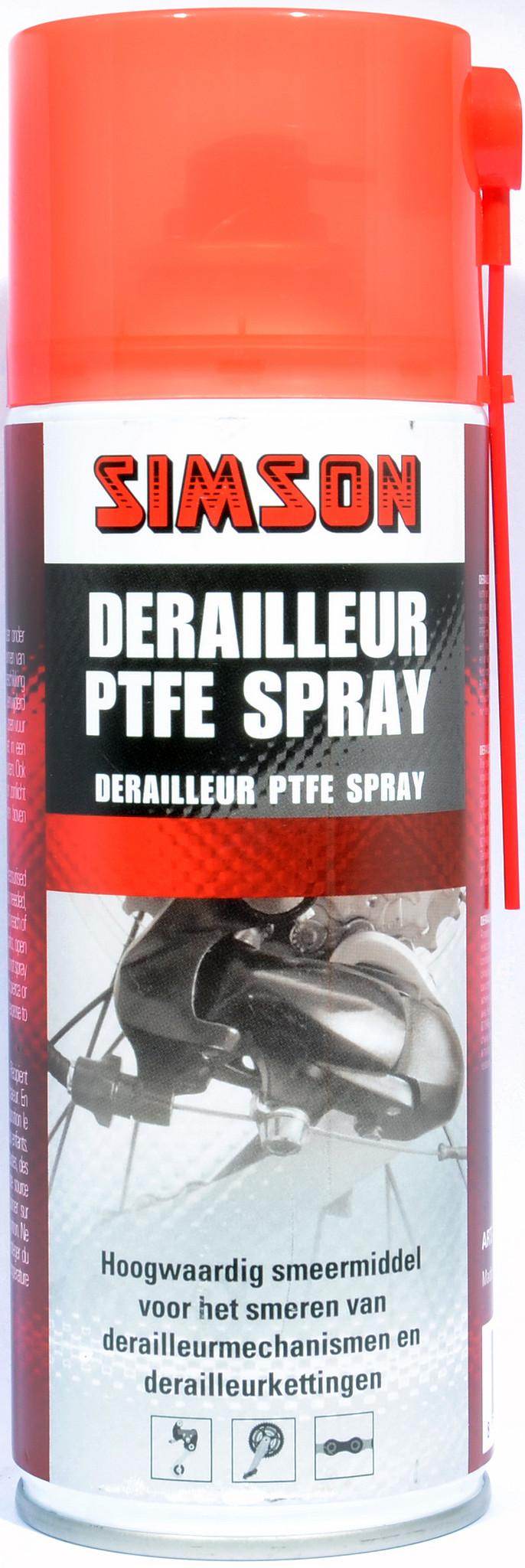 Simson Derailleur PTFE spray