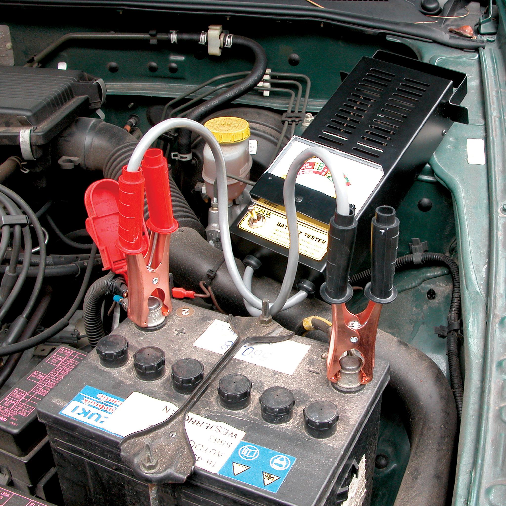 Testapparaat batterij