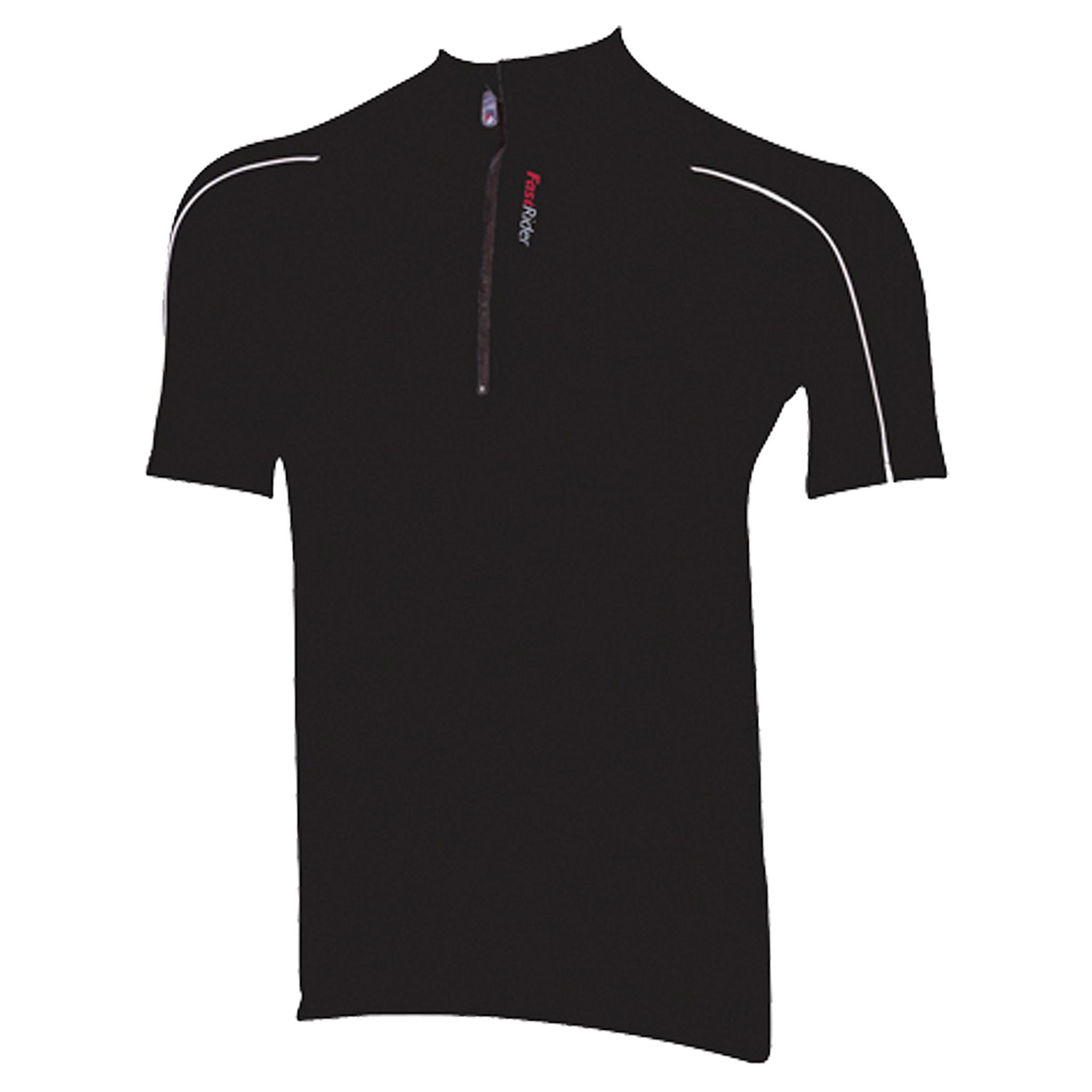 Fastrider Shirt Strong Zwart Maat S