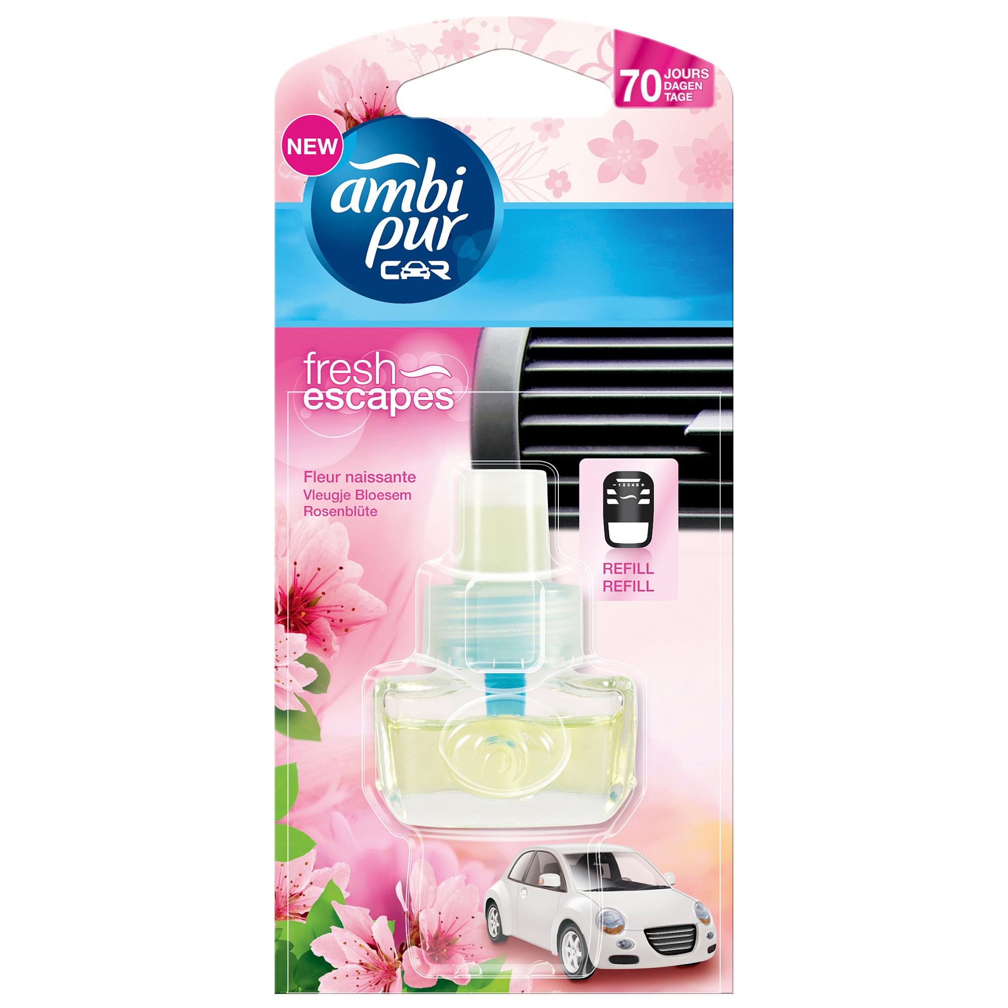 Afbeelding van Ambi Pur Luchtverfrisser Navulling Car Blossom