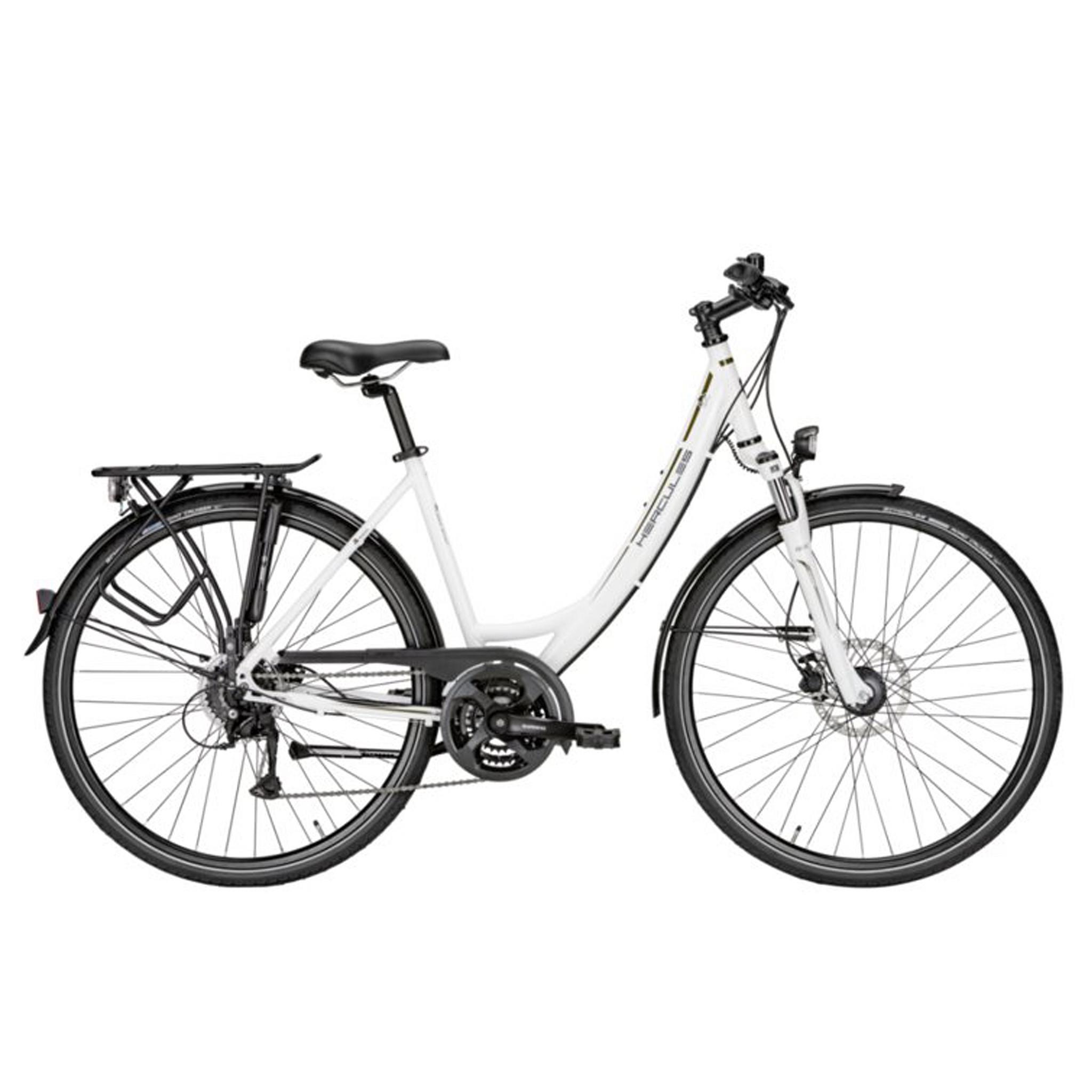 Hercules Sportieve fiets Tourer 24 Sport dames wit 45cm Wit