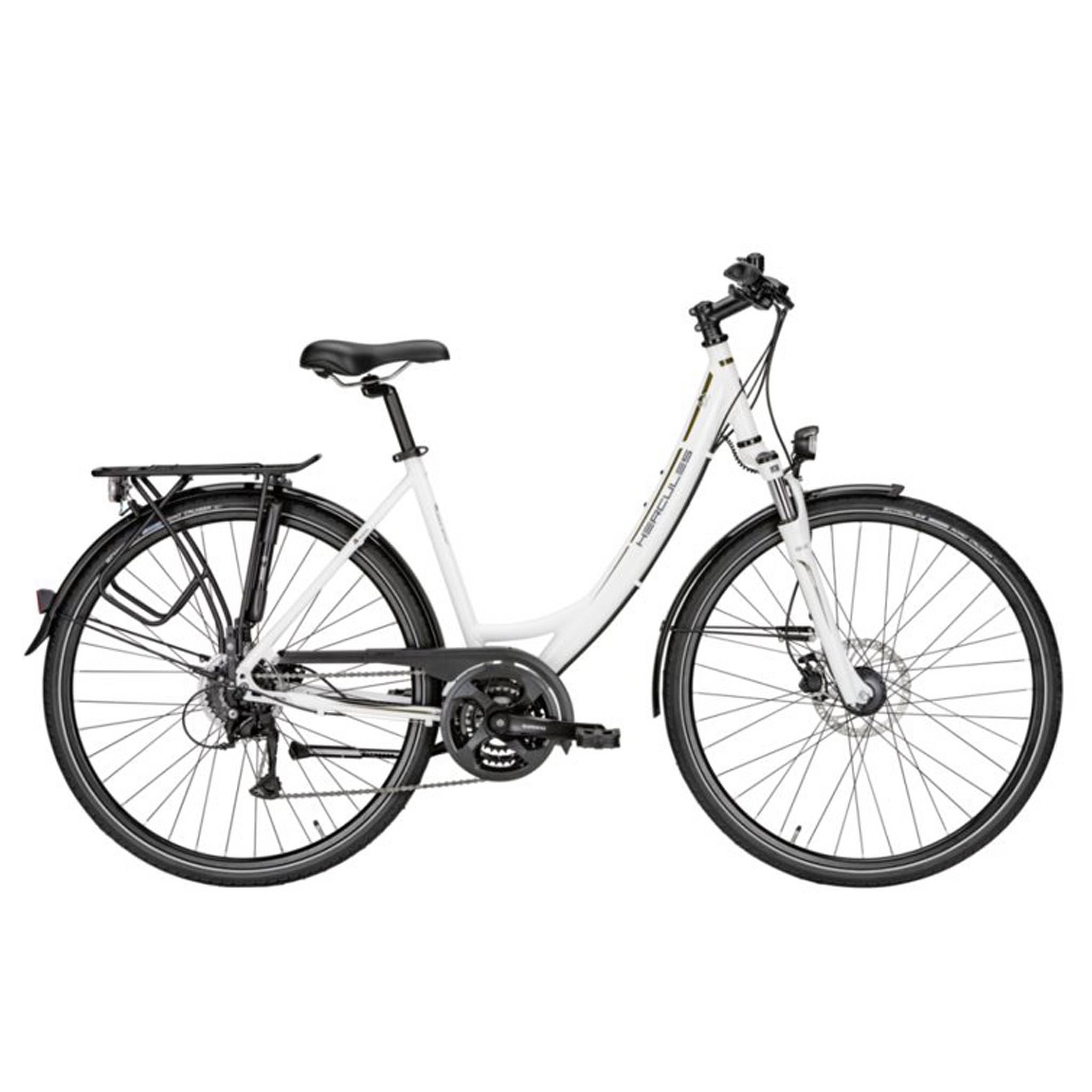 Hercules Sportieve fiets Tourer 24 Sport dames wit 50cm Wit