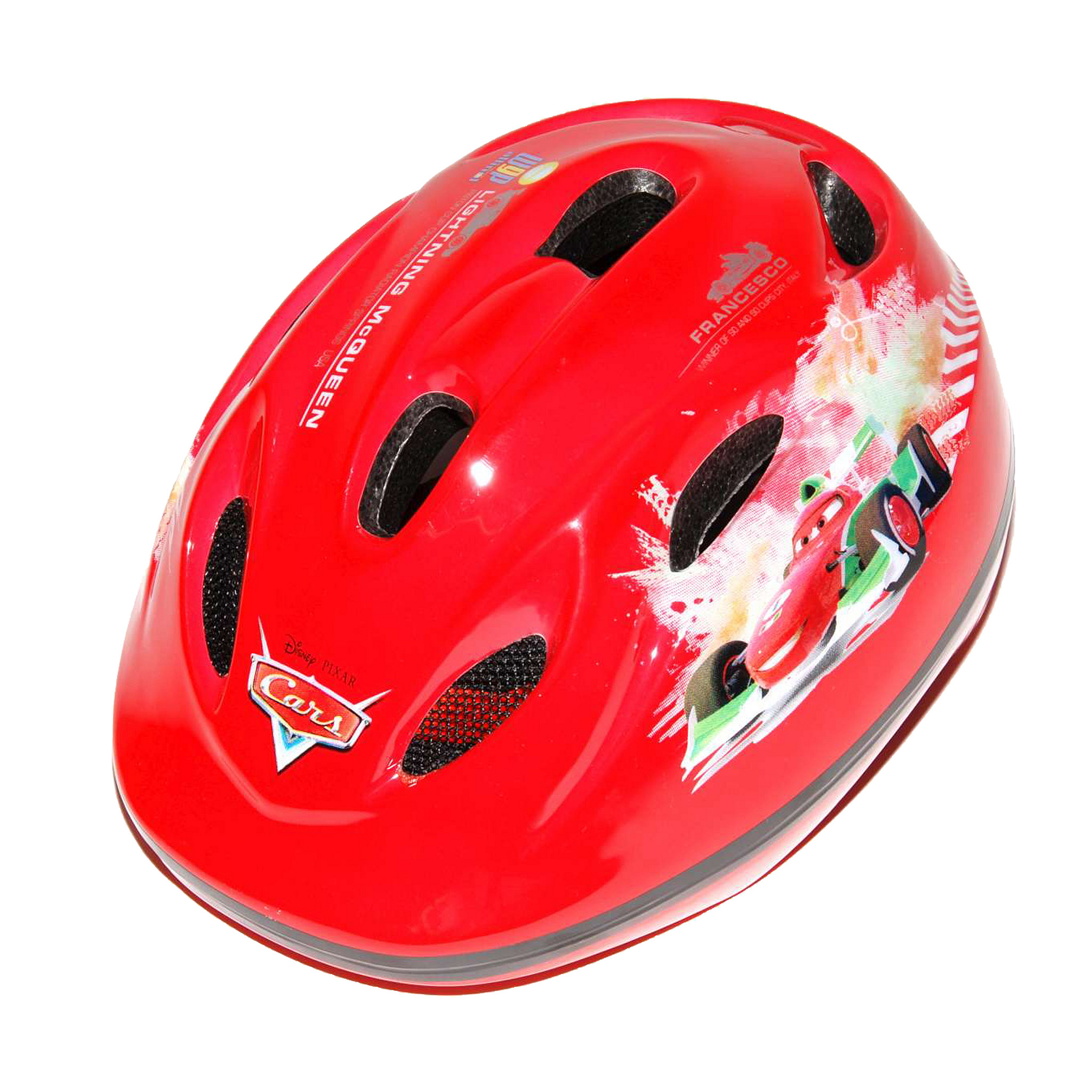 Disney Fietshelm kind Cars rood 51 55