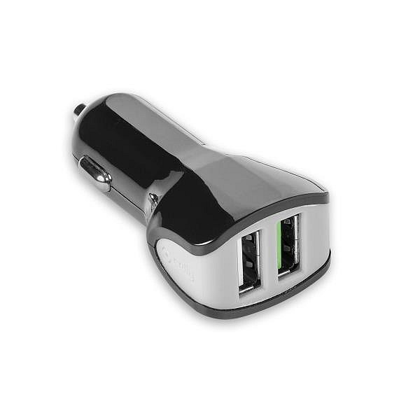 Celly Universele autolader Charger Car 3.4A Turbo USB zwart 5727859