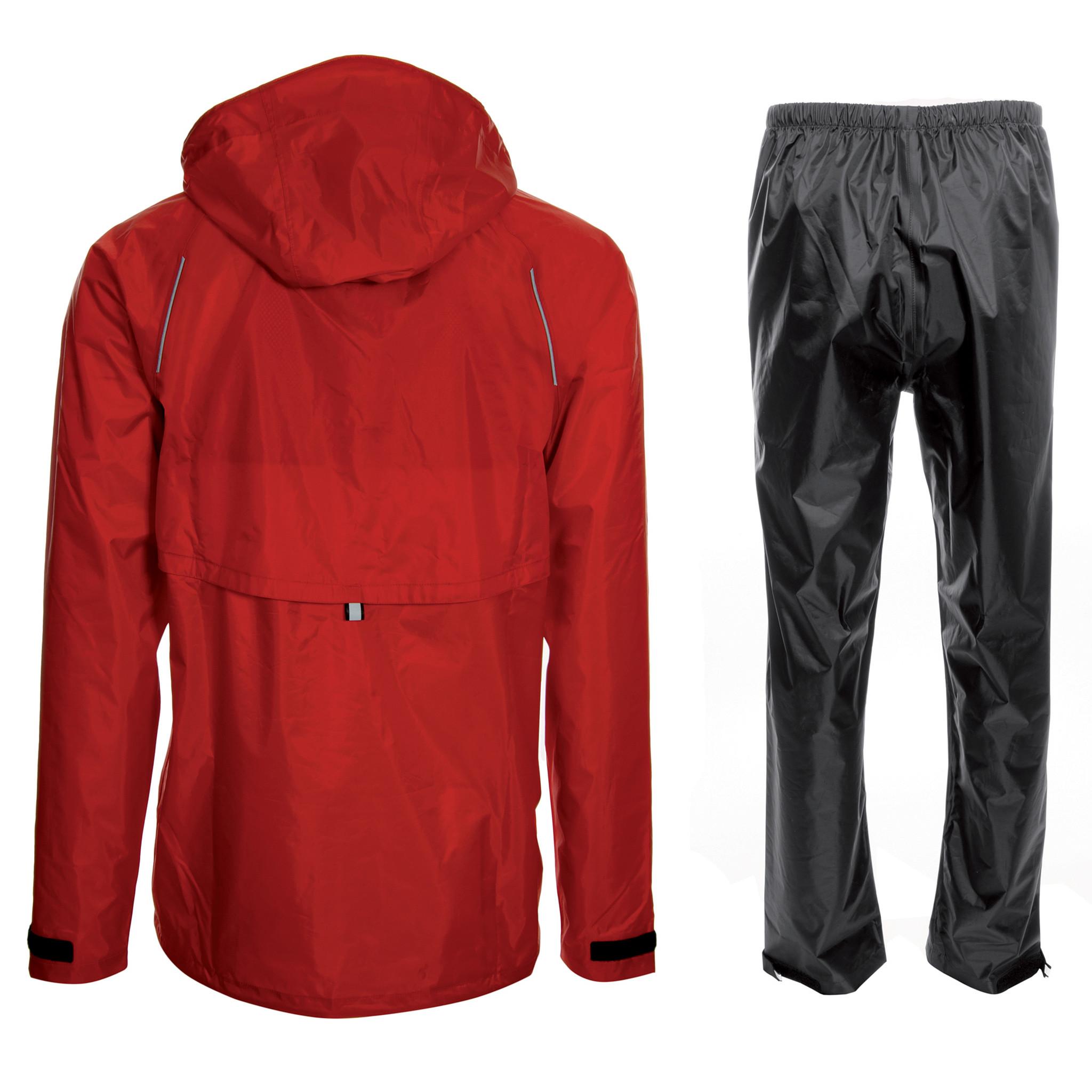 AGU Regenpak Passat rood S