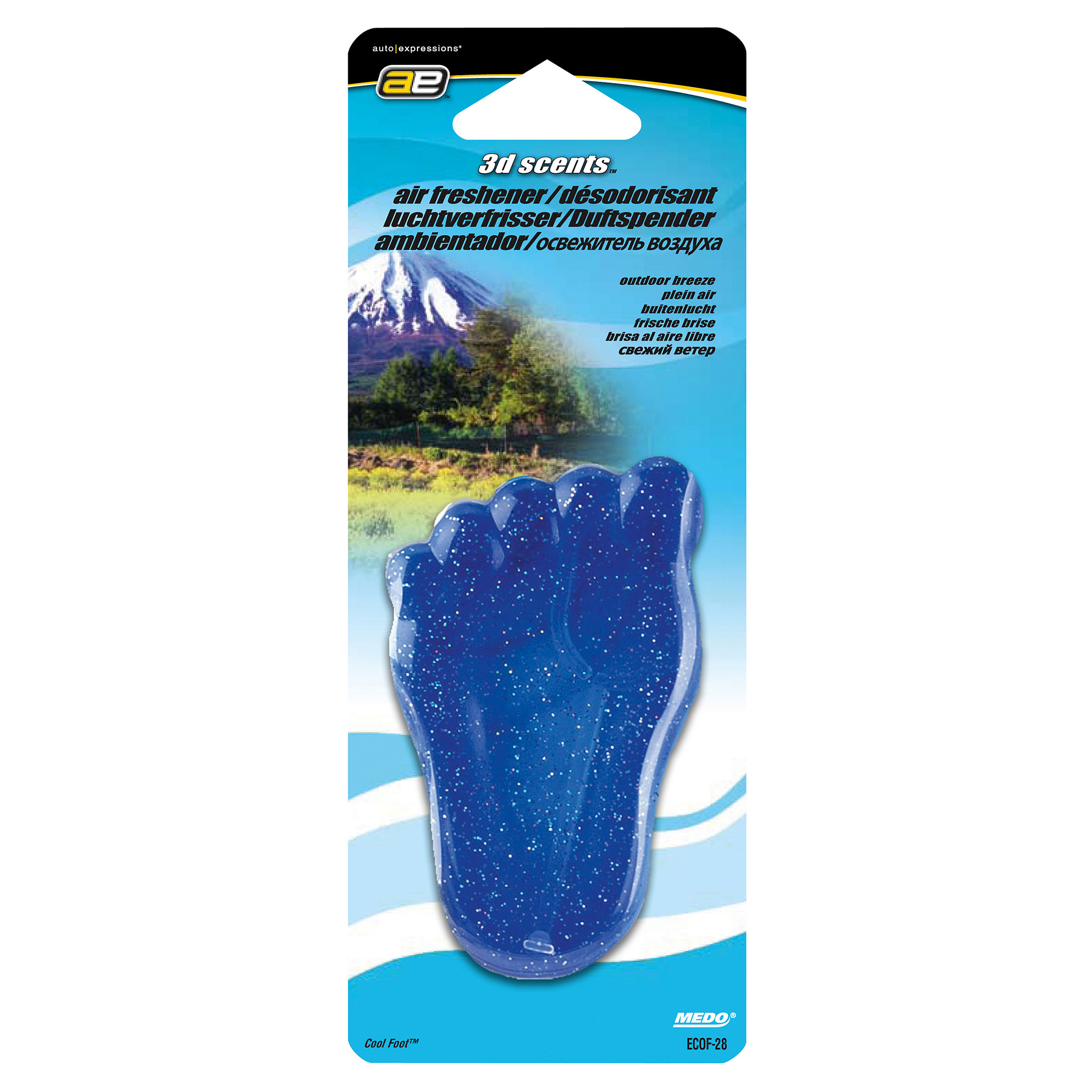 3D scents Luchtverfrisser Cool Foot Outdoo