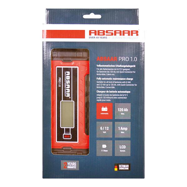 Absaar Smartlader PRO 1.0 1A 6-12V