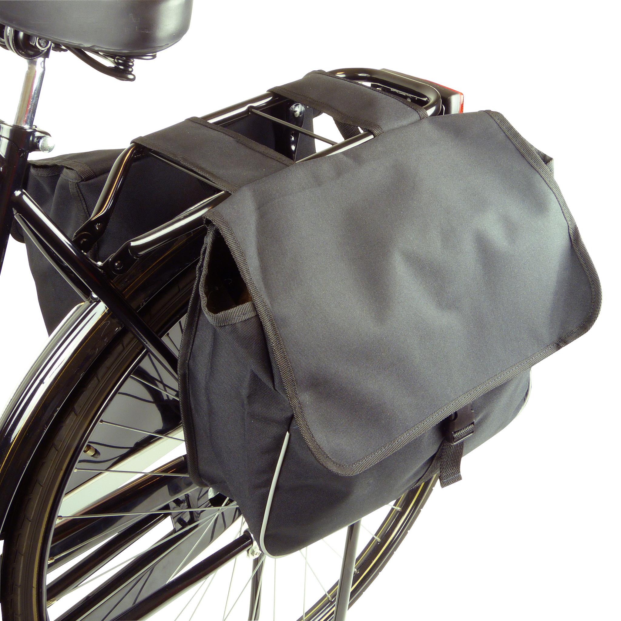 Dresco Dubbele fietstas 28L