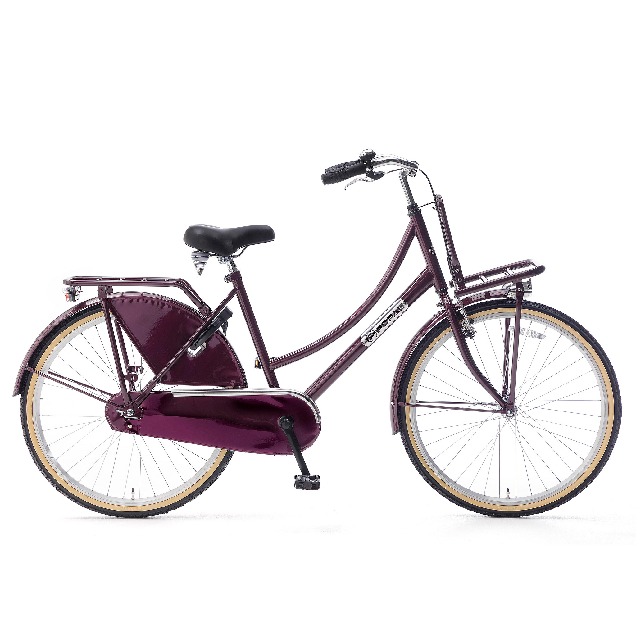 """Popal Kinderfiets Daily Dutch Basic 26"""" Paars Paars"""