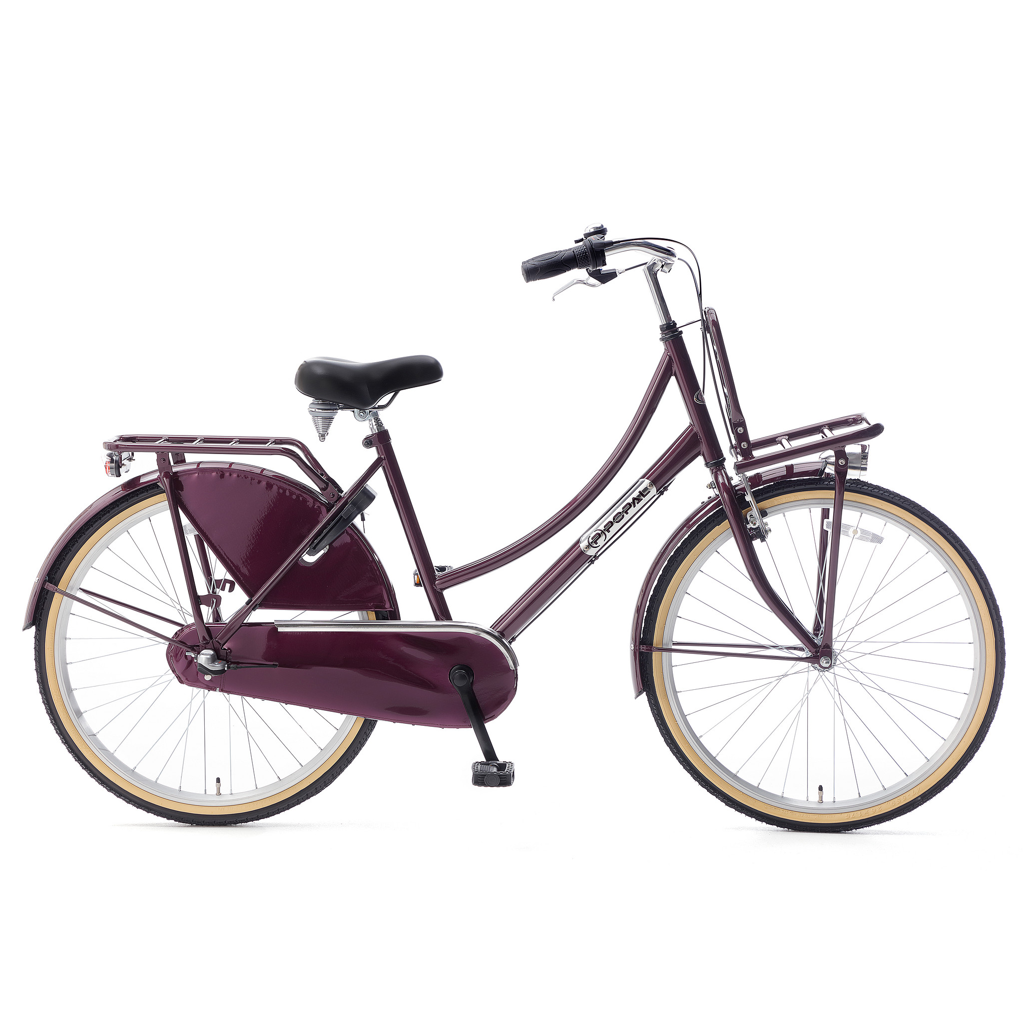 """Popal Kinderfiets Daily Dutch Basic Plus 26"""" Paars Paars"""