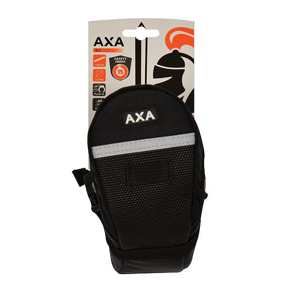 Axa AXA Plug-in ketting RLC zwart 140cm ø5.5mm