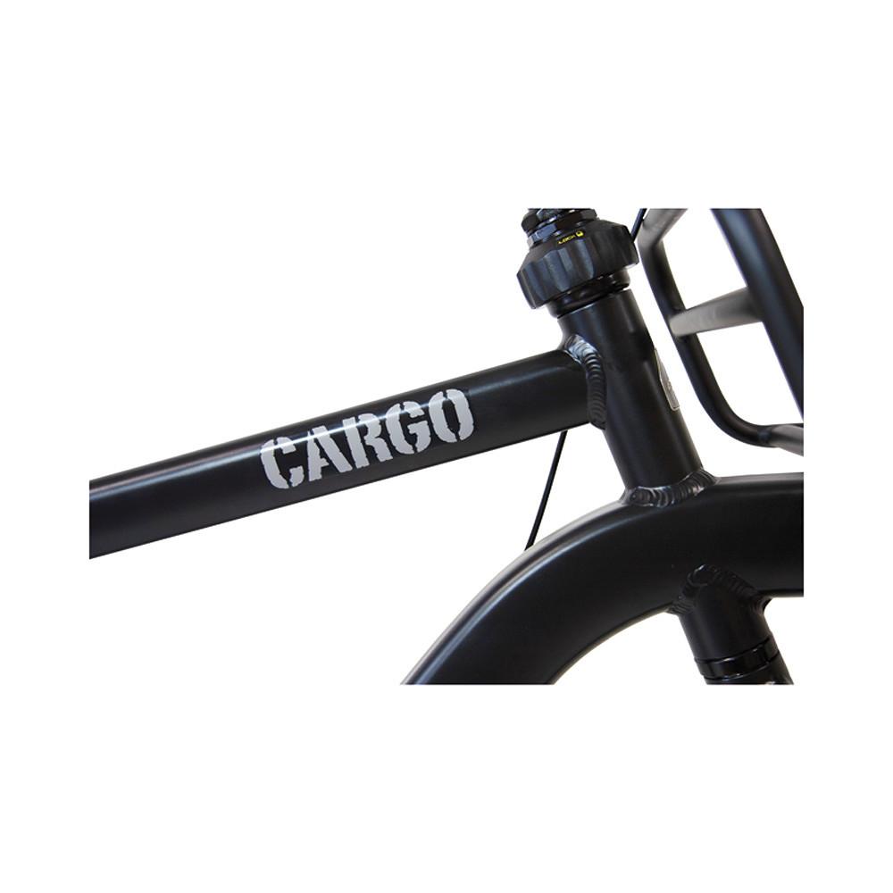 Altego Transportfiets Cargo Nexus 3 Heren Mat Zwart 57cm Zwart