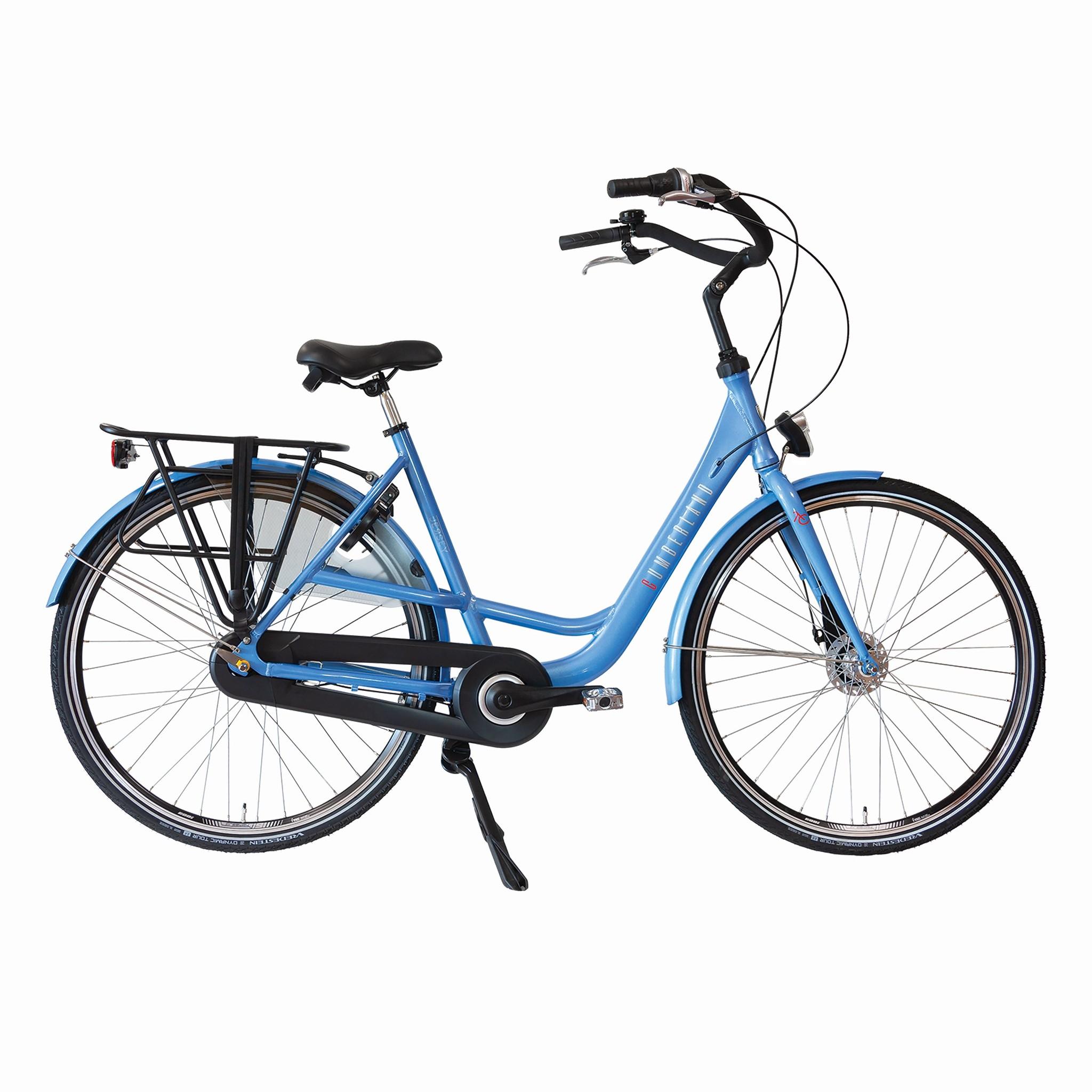 Cumberland Moederfiets Nexus 7 licht blauw 53cm Blauw