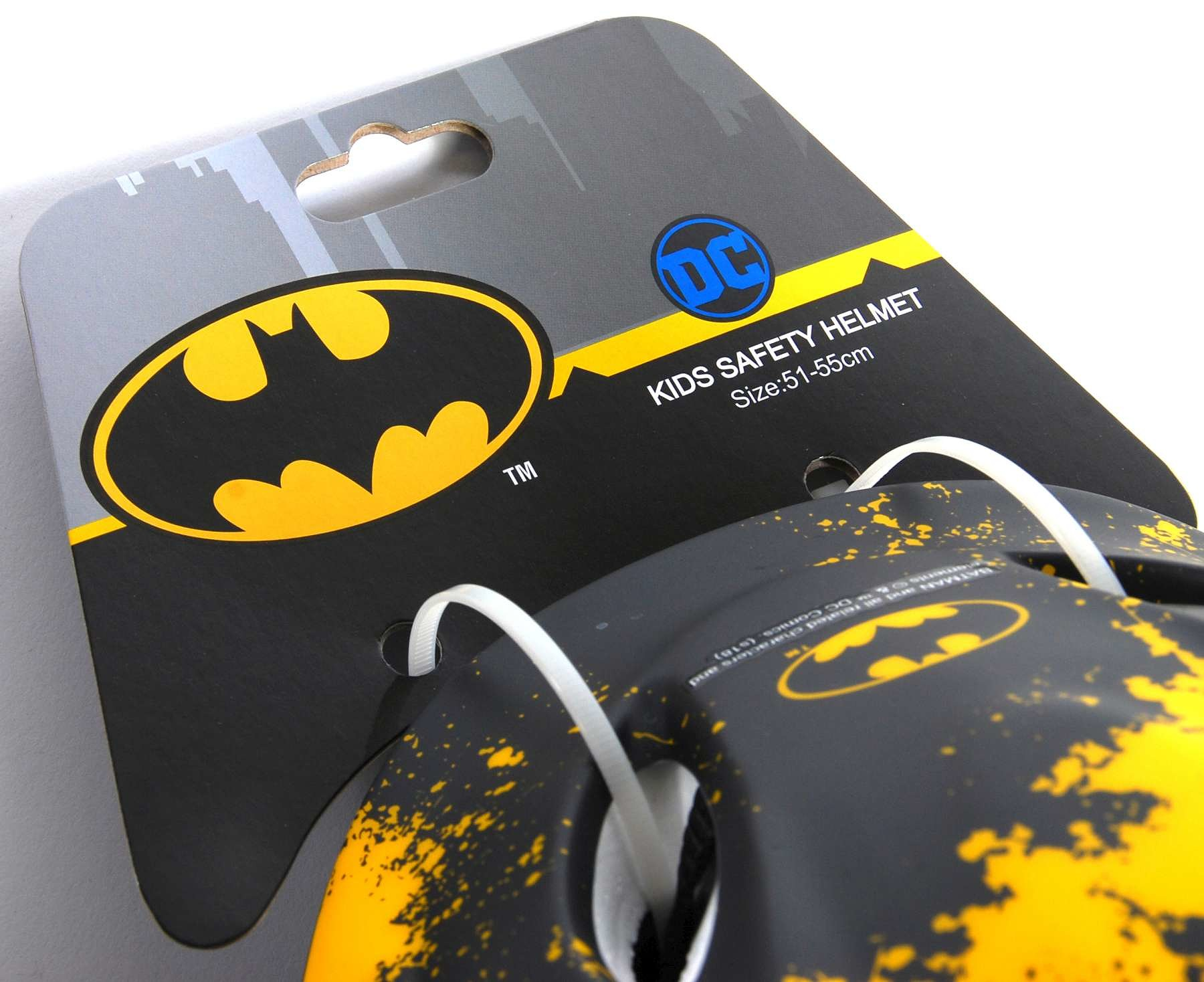 Batman Fietshelm Zwart