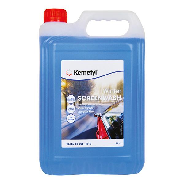 Kemetyl Ruitensproeiervloeistof Antivries 15°C 5L