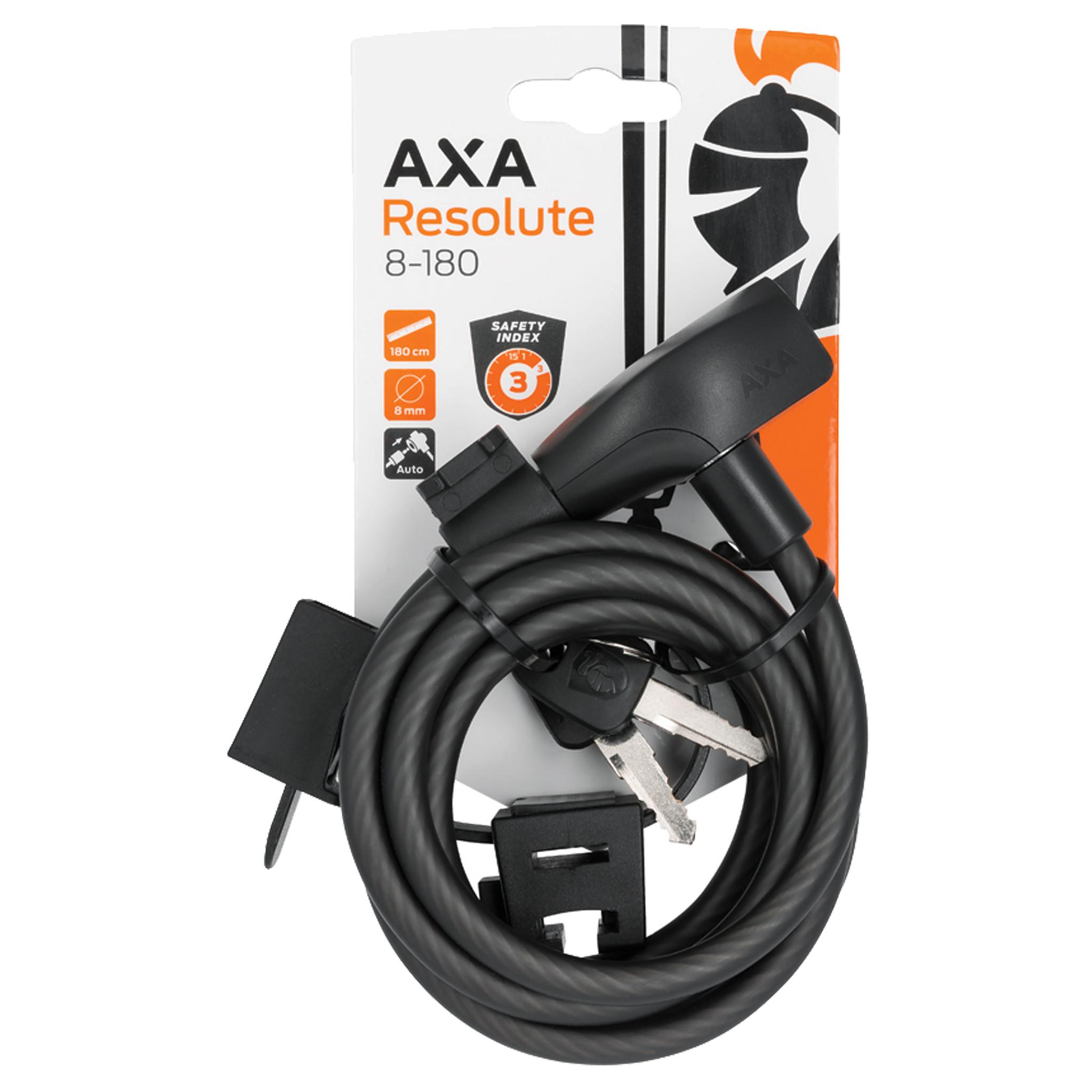 AXA Kabelslot Resolute 8-180