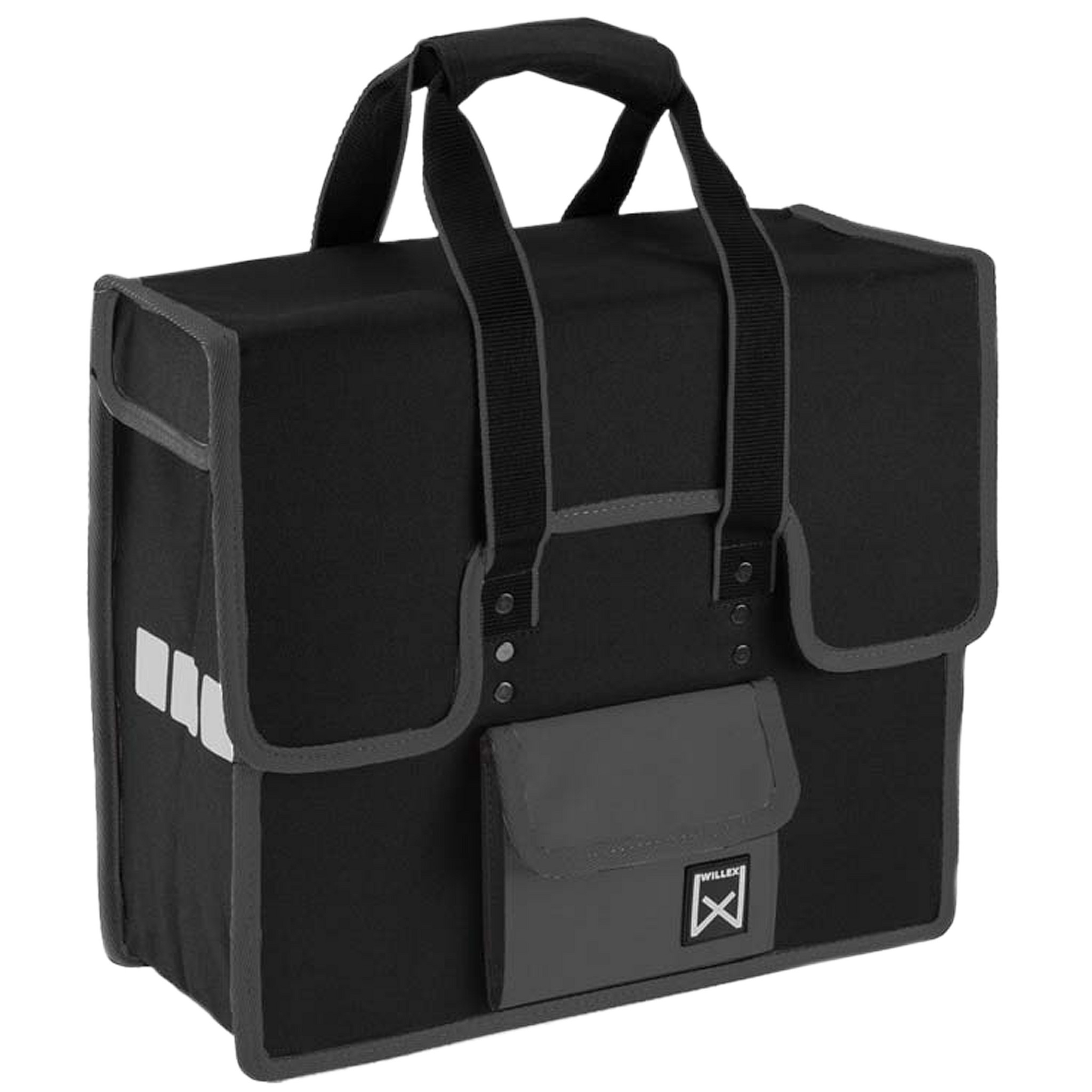 Willex Shopper zwart-grijs 10102