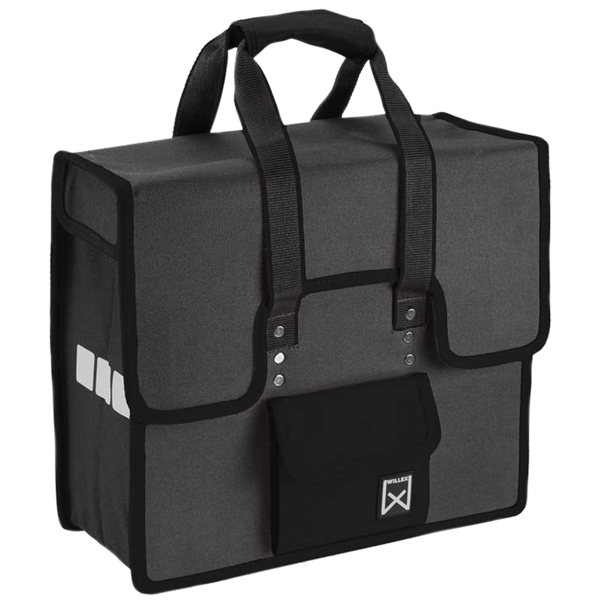 Willex Shopper grijs-zwart 10106
