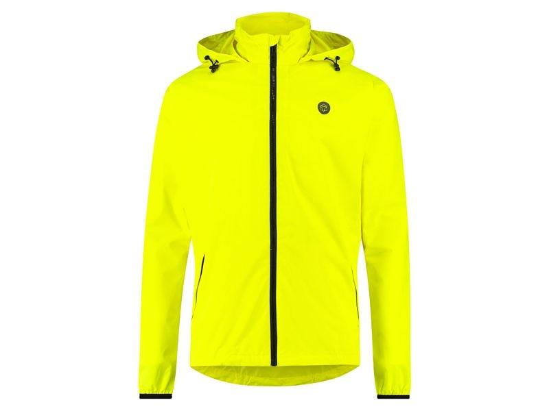 AGU Go Rain Jacket Essential neon yellow XXXL