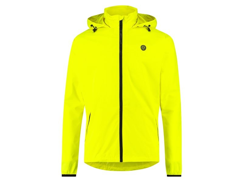 AGU Go Rain Jacket Essential neon yellow L