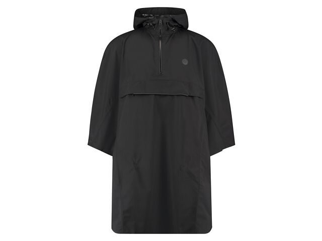 AGU Grant Poncho essential black one Size