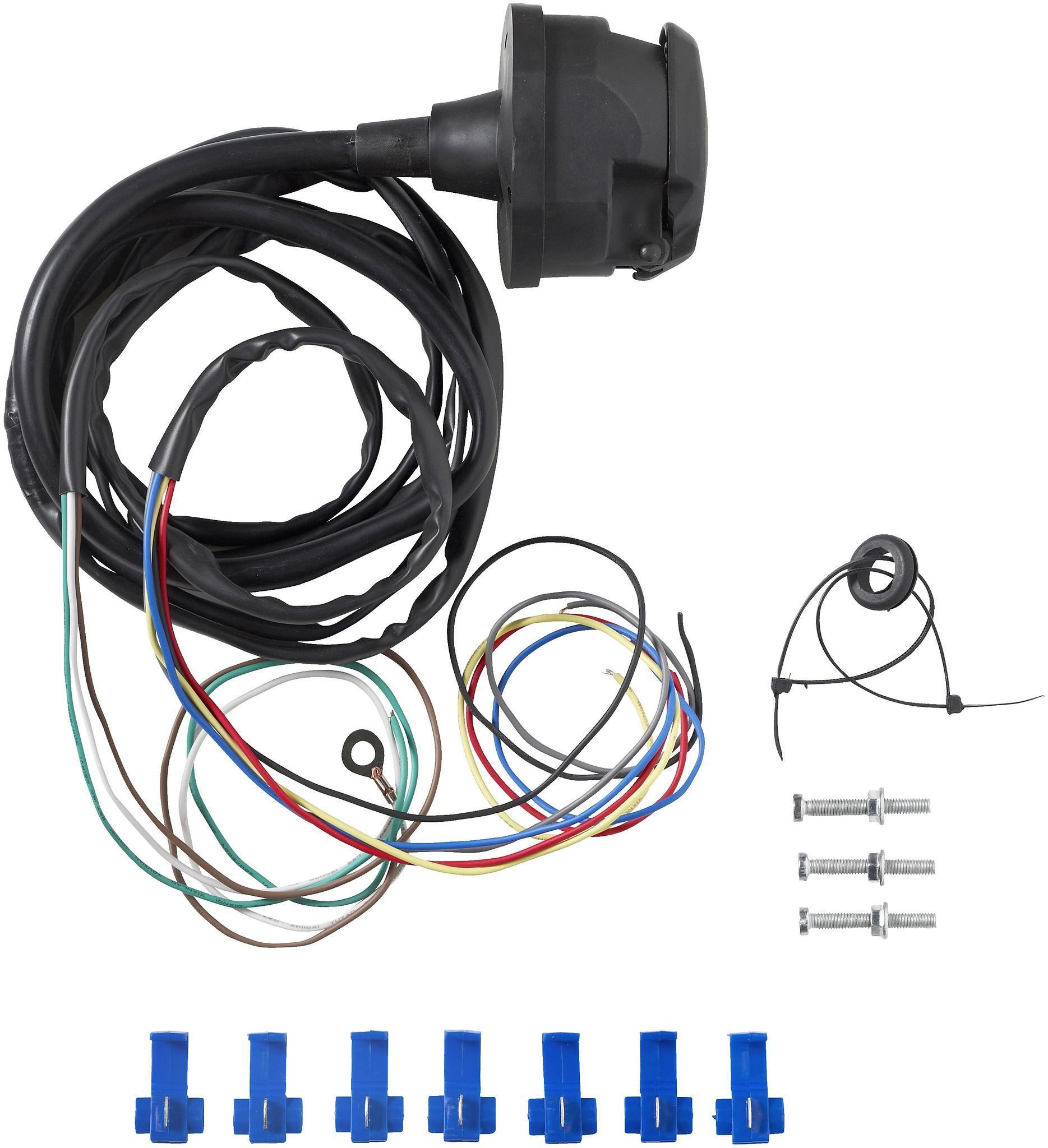 Carpoint trekhaak-kabelset 7-polig 2 m