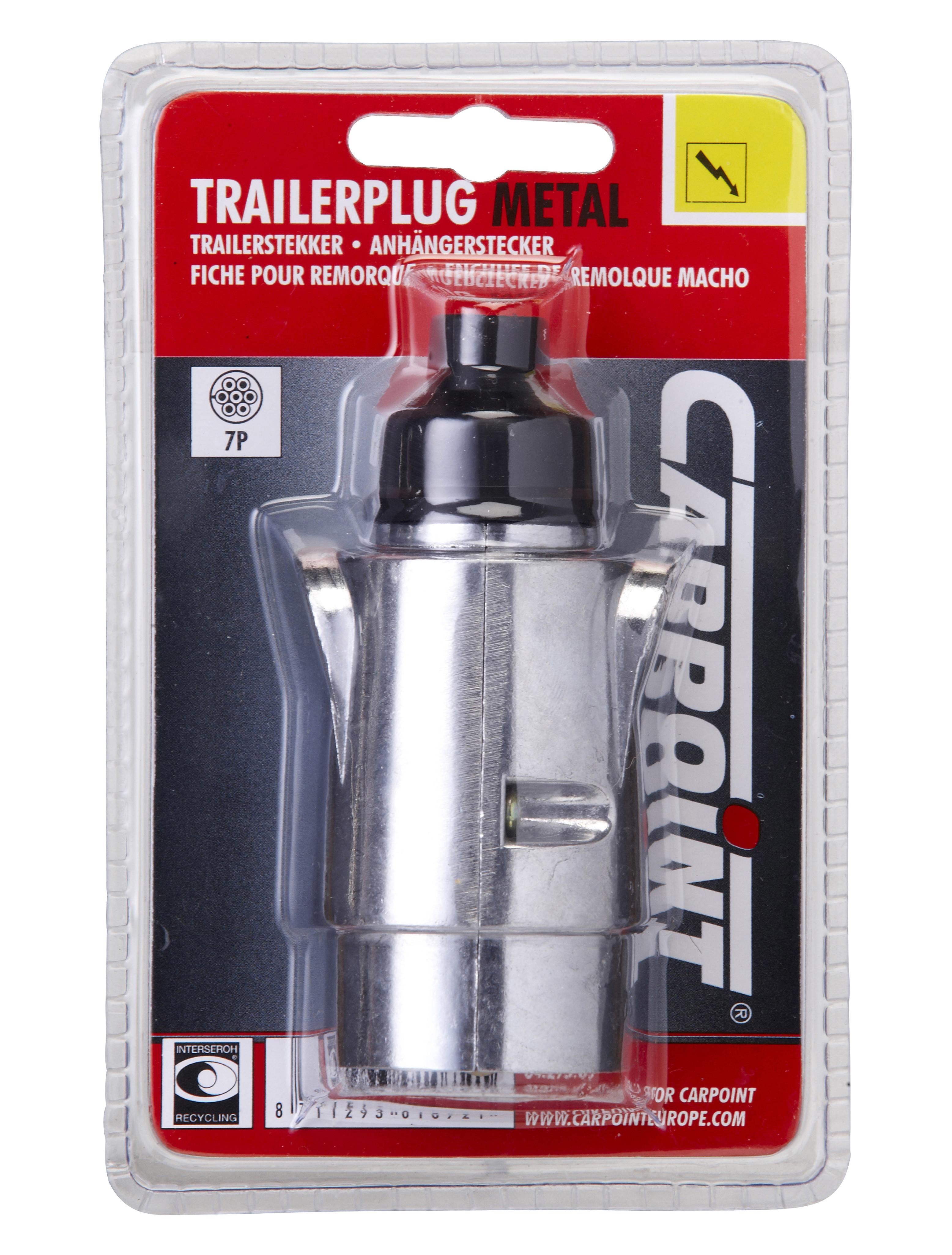 Carpoint 7-Polige Stekker Metaal