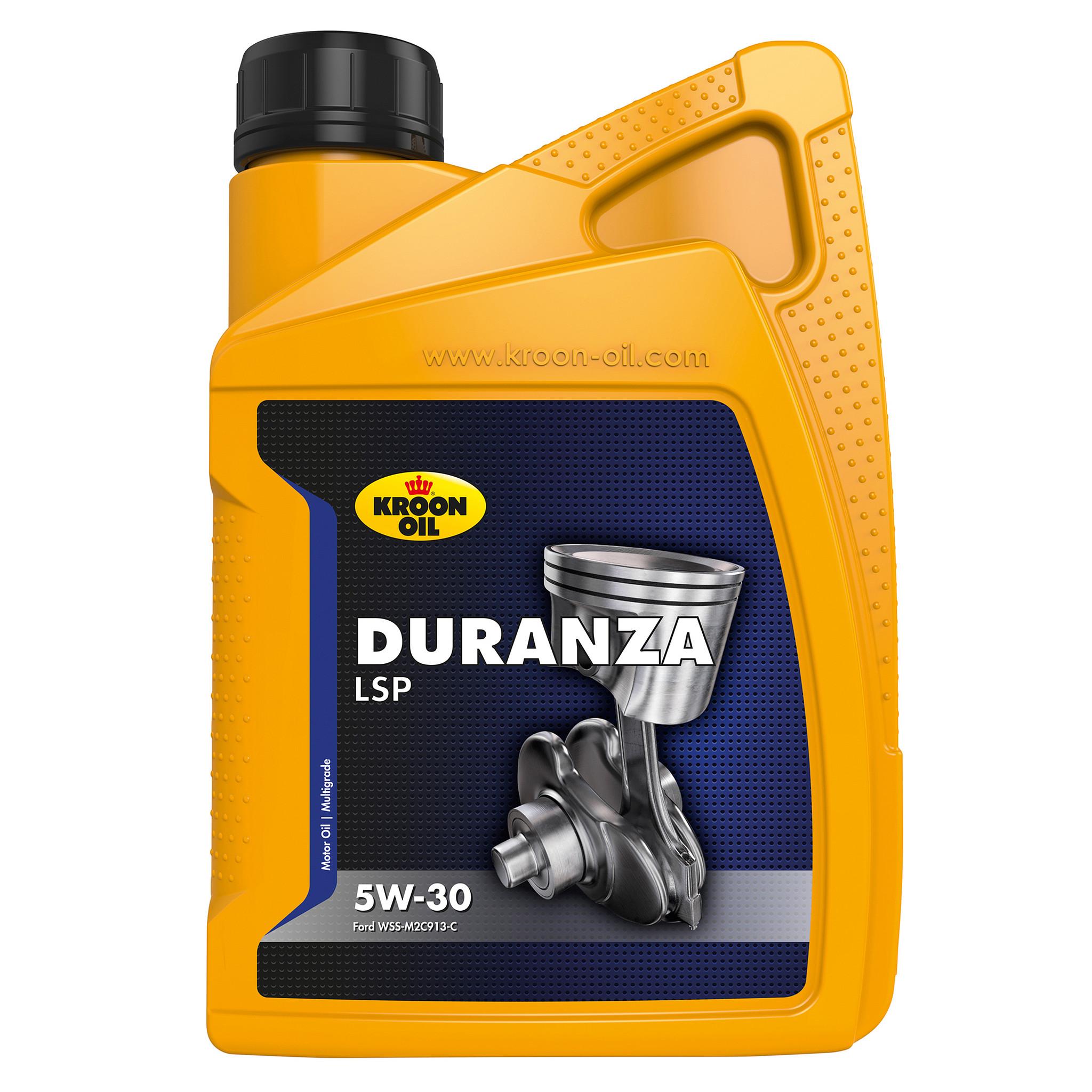 Kroon Oil Motorolie Duranza LSP 5W-30