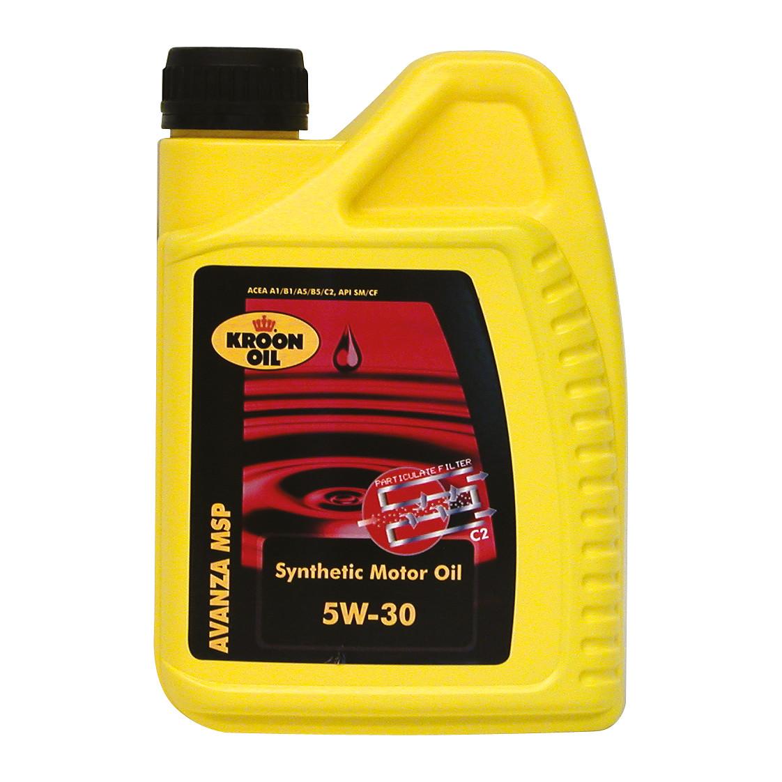 Kroon Oil Motorolie Avanza MSP 5W-30