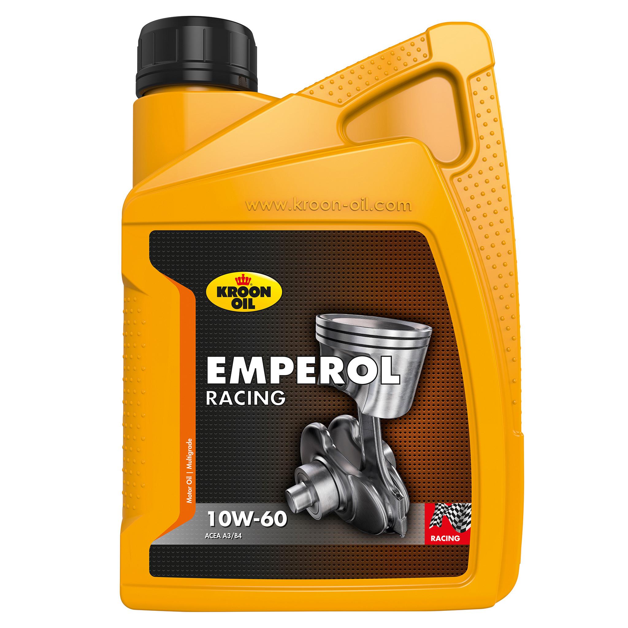 Kroon Oil Motorolie Emperol Racing 10W-60
