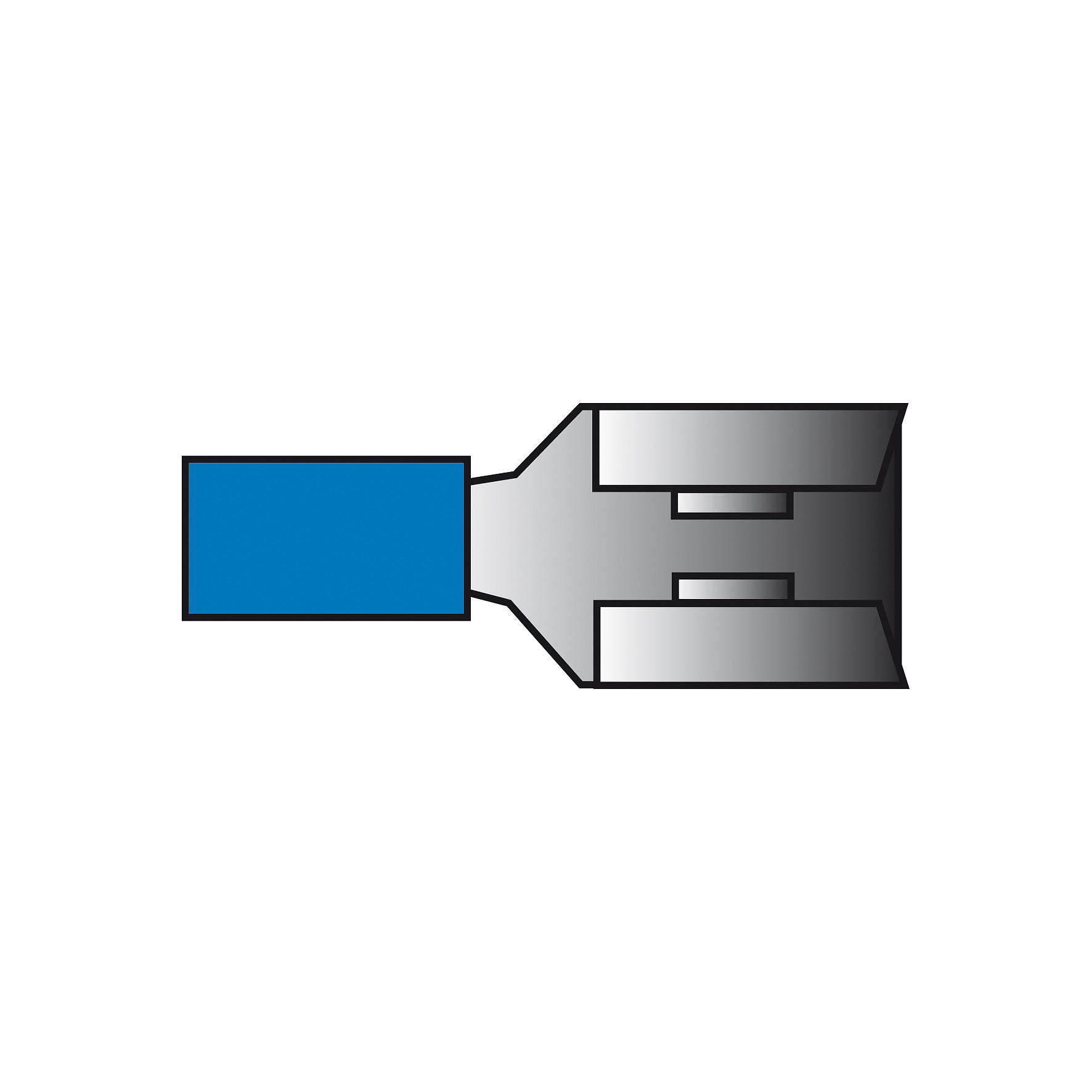 Carpoint Kabelverbinder blauw 544