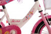 "Disney Kinderfiets Princess 12""  wit/roze"