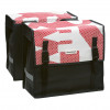 New Looxs Dubbele tas Bisonyl basic 46 liter wit rood