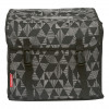 New Looxs Dubbele tas Cameo triangle 30 liter zwart
