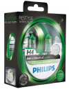 Philips Autolampen ColorVision H4 groen