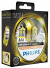 Philips Autolampen Colorvision H4 Geel