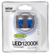 RING W5W LED 12000K COOL BLUE