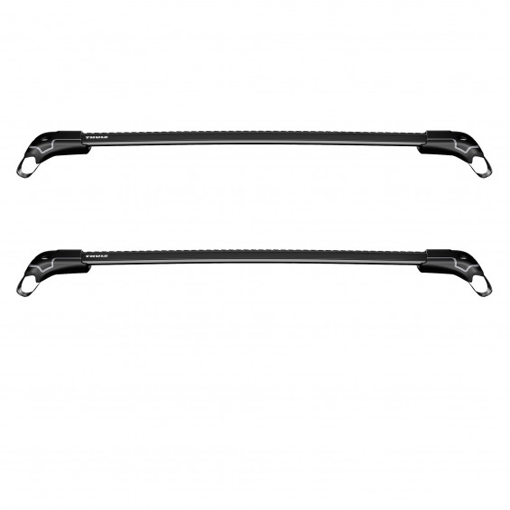"Thule Dakdrager Wingbar Edge 9584B WINGBAR EDGE (RAILING) LENGTH """"S+"