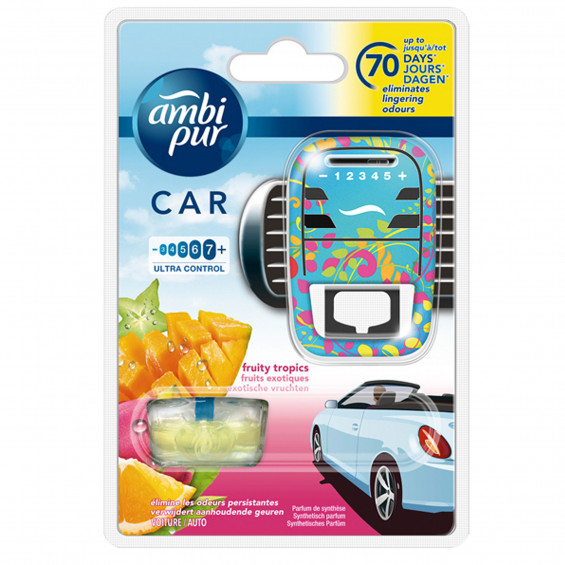 Ambi Pur Luchtverfrisser Car Fruity LUCHTVERF AMBI PUR FRUITY H + NV