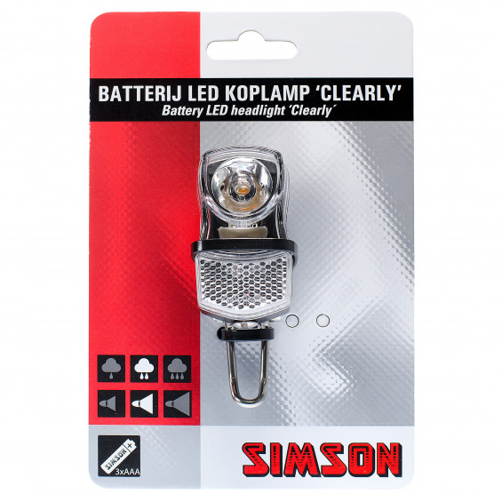 Simson Koplamp Led Clearly SIMSON KOPLAMP LED CLEARLY
