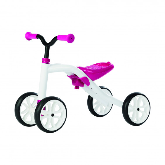 Chillafish Loopfiets Quad Roze LOOPFIETS QUAD ROZE WIT