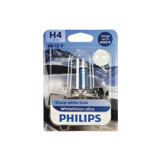 Philips 12342WVUB1 WhiteVision ultra H4 PHILIPS 12342WVUB1 H4 WHITEVIS.ULTR