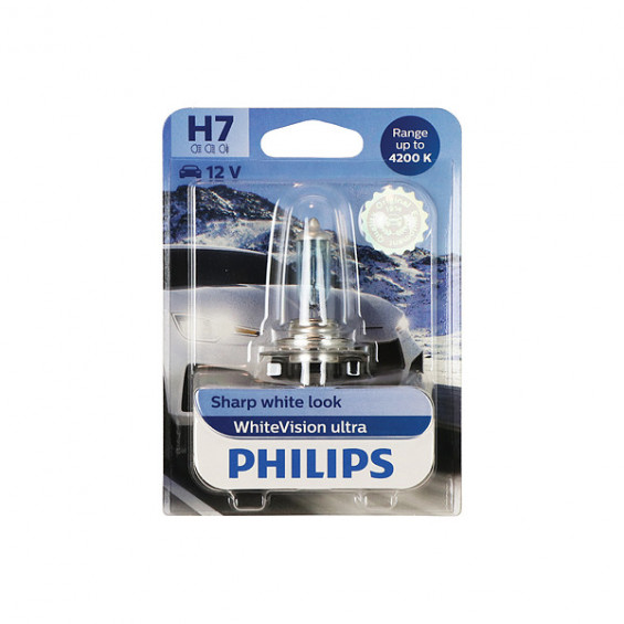 Philips 12972WVUB1 WhiteVision ultra H7 PHILIPS 12972WVUB1 H7 WHITEVIS.ULTR
