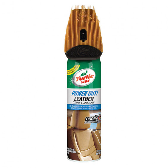 Turtle Wax Power Out Leather 400ml TW 52895 POWER OUT LEATHER 400ML