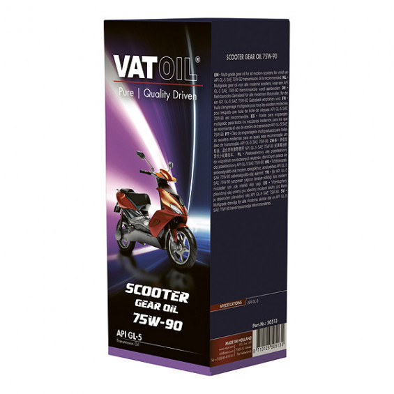 Kroon-Oil VatOil Scooter GearOil 75W-90 125ml VATOIL SCOOTER GEAROIL 75W-90 125ML