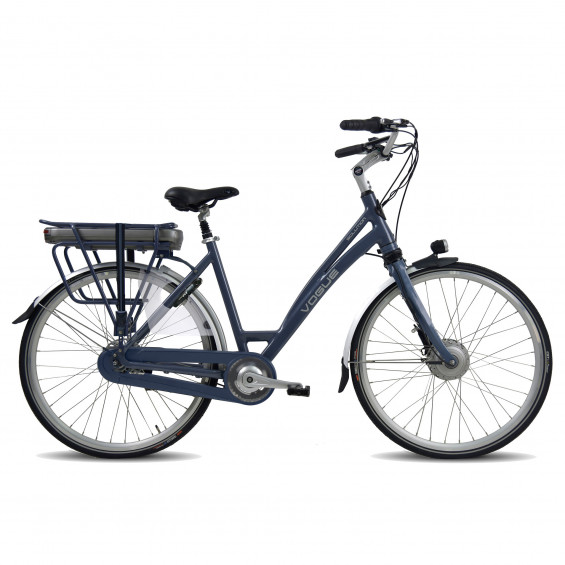Vogue Elektrische fiets Solution Dames Mat Zwart-Blauw 51cm 481 Watt VOGUE SOLUTION D28N8 51 M ZW/BL 13A
