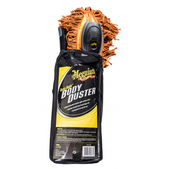 Meguiar's Versa-Angle Body Duster With Long Handle MEGUIAR'S VERSA-ANGLE B. DUST. L.H.