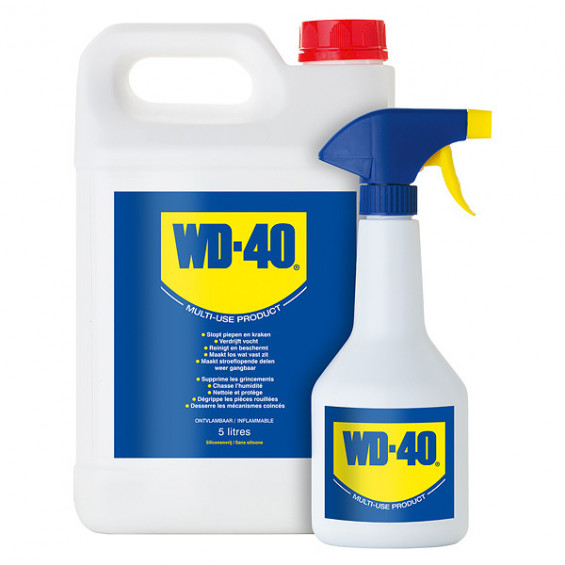 WD-40 Multispray 5L jerrycan incl trigger WD-40 JERRYCAN INCL TRIGGER 5LTR